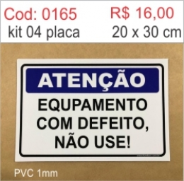 Saldão - Placa Equipamento com Defeito Não Use!