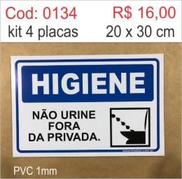 Saldão - Placa Não Urine Fora da Privada