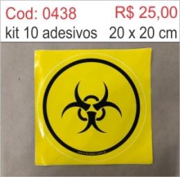 Saldão - Adesivo Radiação