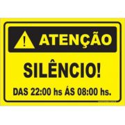 Silêncio Após As 22:00 Hs