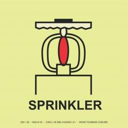 Espaço Protegido com Sprinkler (Space Protected By Sprinkler)