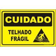 Telhado frágil