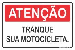 Tranque Sua Motocicleta