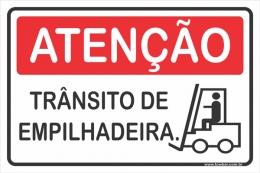 Trânsito de Empilhadeira