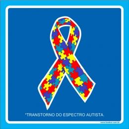 Placa transtorno do espectro autista