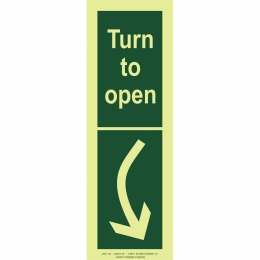 Turn to Open right