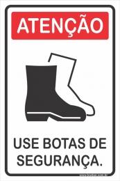 Use Botas de Segurança