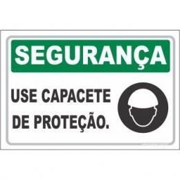 Use Capacete de Proteção