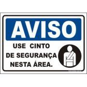 Use Cinto de Segurança Nesta Área