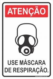Use Máscara de Respiração