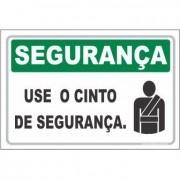 use o cinto de segurança