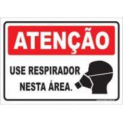 Use Respirador Nesta Área