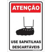 Use Sapatilhas Descartáveis