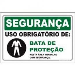 Uso Obrigatório de Bata de Proteção