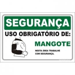 Uso Obrigatório de Mangote