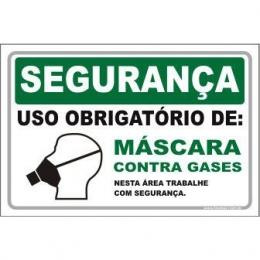 Uso Obrigatório de Máscara Contra Gases