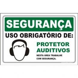 Uso Obrigatório de Protetor Auditivos