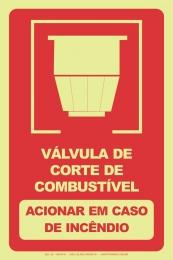 Válvula de Corte de Combustível - Acionar em Caso de Incêndio