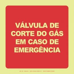 Válvula de Corte do Gás Em Caso de Emergência