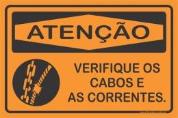 Verificar Os Cabos e As Correntes