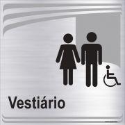 Vestiário unissex inclusivo