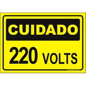 220 Volts  - Towbar Sinalização de Segurança