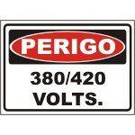 380 / 220 volts  - Towbar Sinalização de Segurança