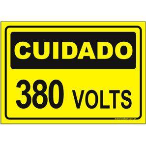 380 Volts  - Towbar Sinalização de Segurança