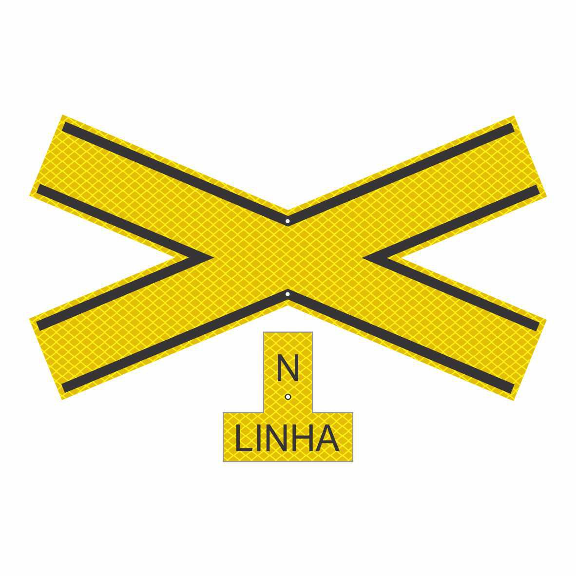 A-41 - CRUZ DE SANTO ANDRÉ  - Towbar Sinalização de Segurança