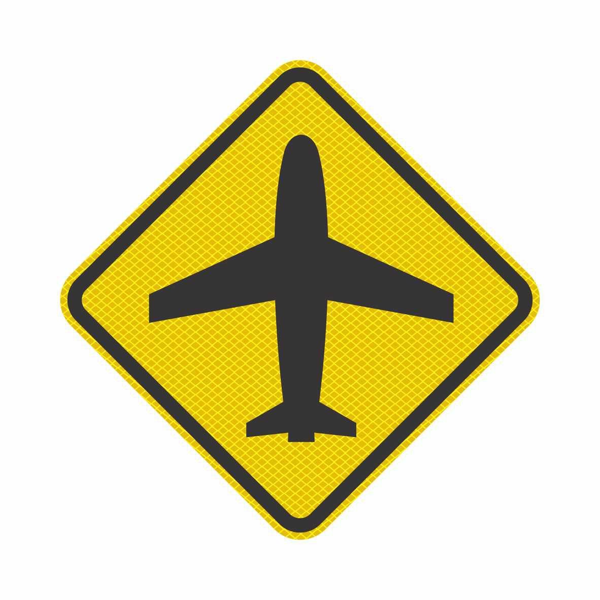 A-43 - AEROPORTO  - Towbar Sinalização de Segurança