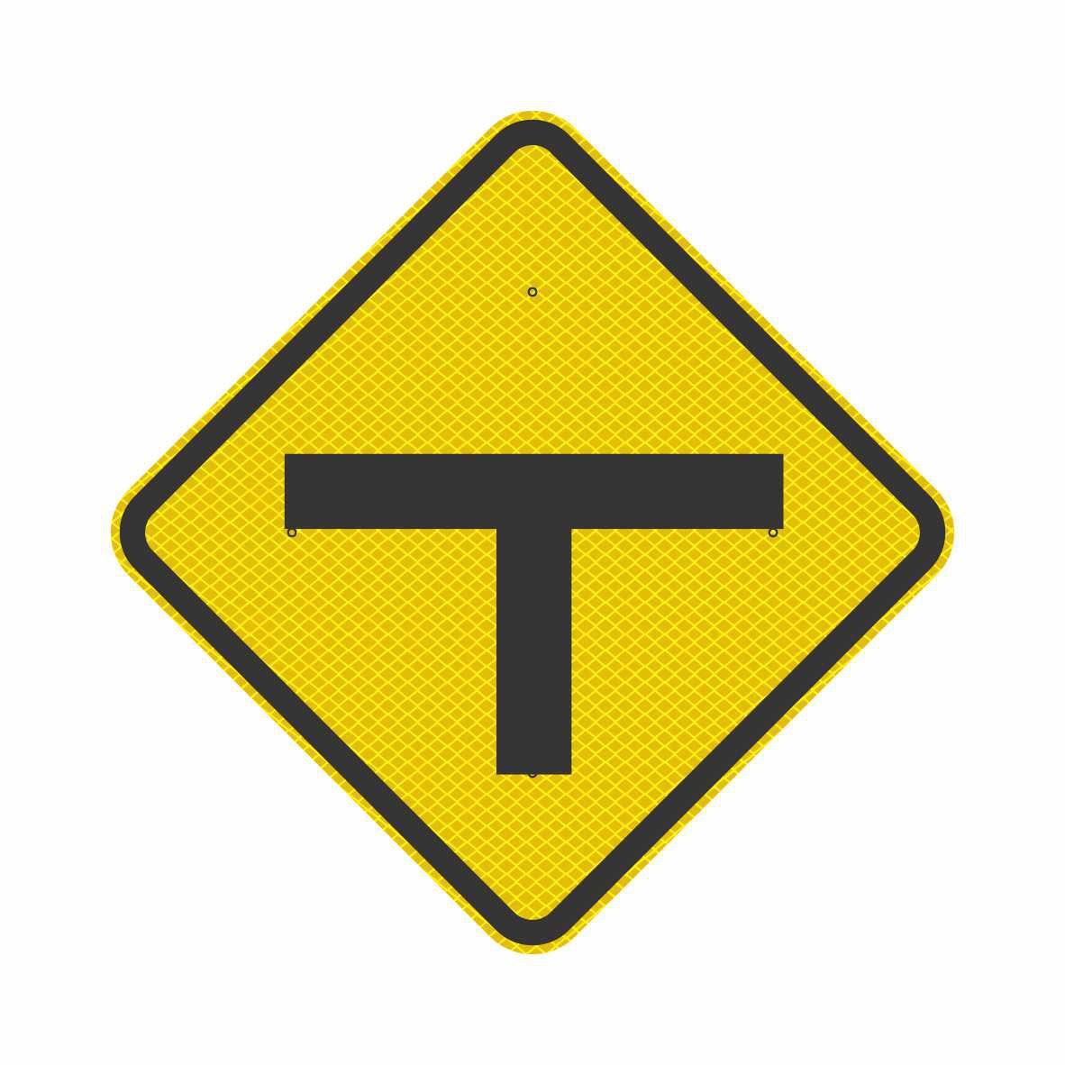 A-8 - INTERSEÇÃO EM 'T'  - Towbar Sinalização de Segurança