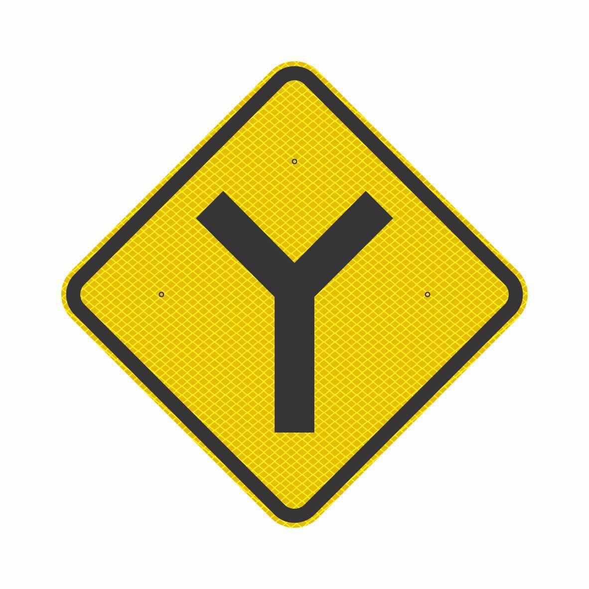 A-9 - BIFURCAÇÃO EM 'Y'  - Towbar Sinalização de Segurança