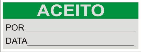 Aceito  - Towbar Sinalização de Segurança