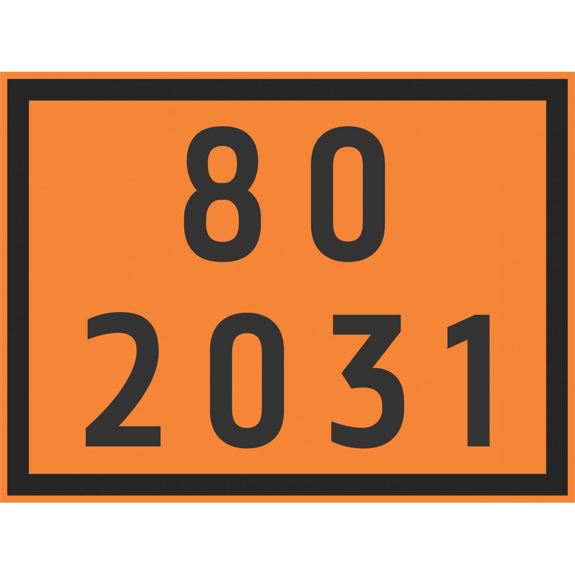 ÁCIDO NÍTRICO 2031  - Towbar Sinalização de Segurança