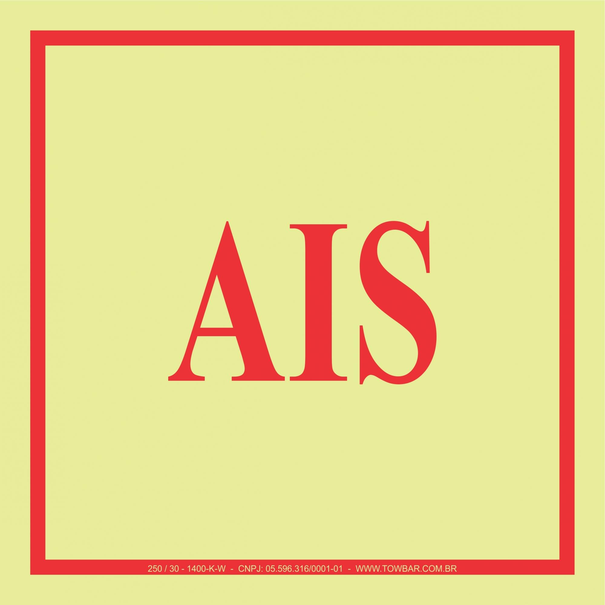 AIS  - Towbar Sinalização de Segurança