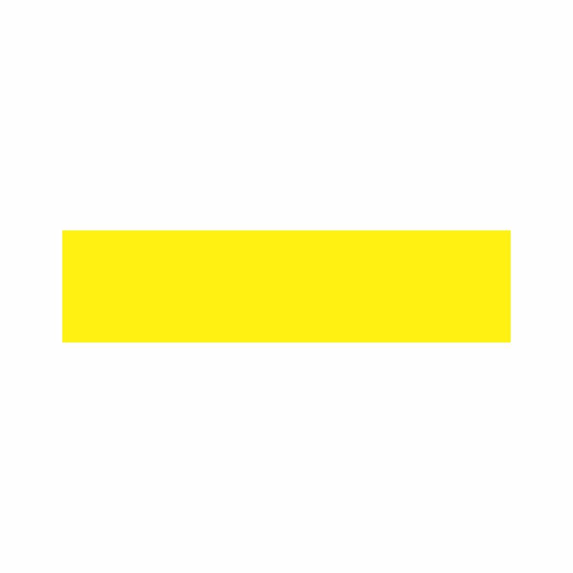 Amarelo  - Towbar Sinalização de Segurança