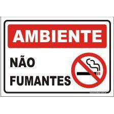 Ambientes não fumantes  - Towbar Sinalização de Segurança