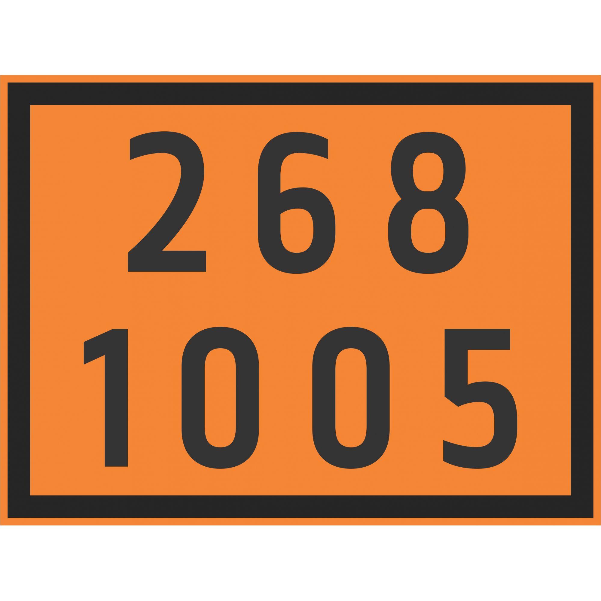 AMÔNIA 1005  - Towbar Sinalização de Segurança