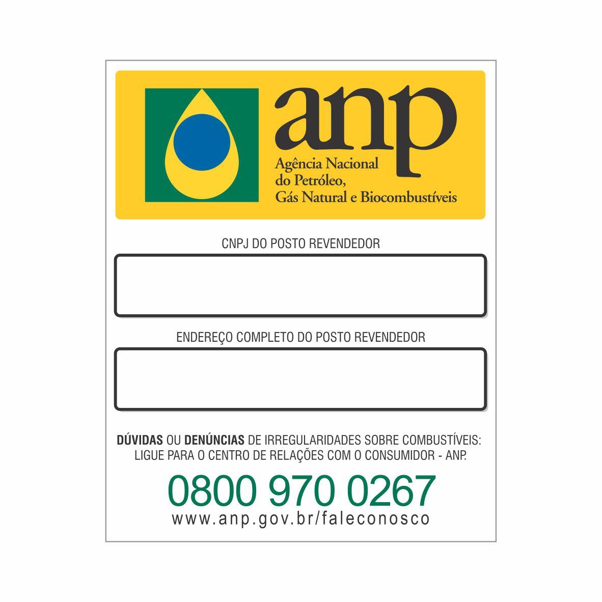 ANP - CNPJ E ENDEREÇO  - Towbar Sinalização de Segurança
