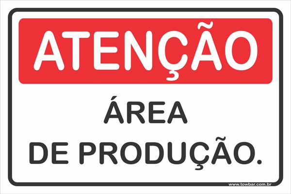 Área de Produção  - Towbar Sinalização de Segurança