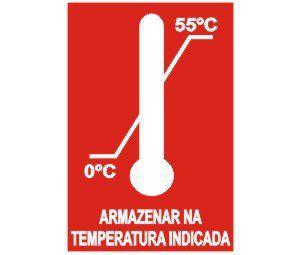 Armazenar na temperatura indicada  - Towbar Sinalização de Segurança