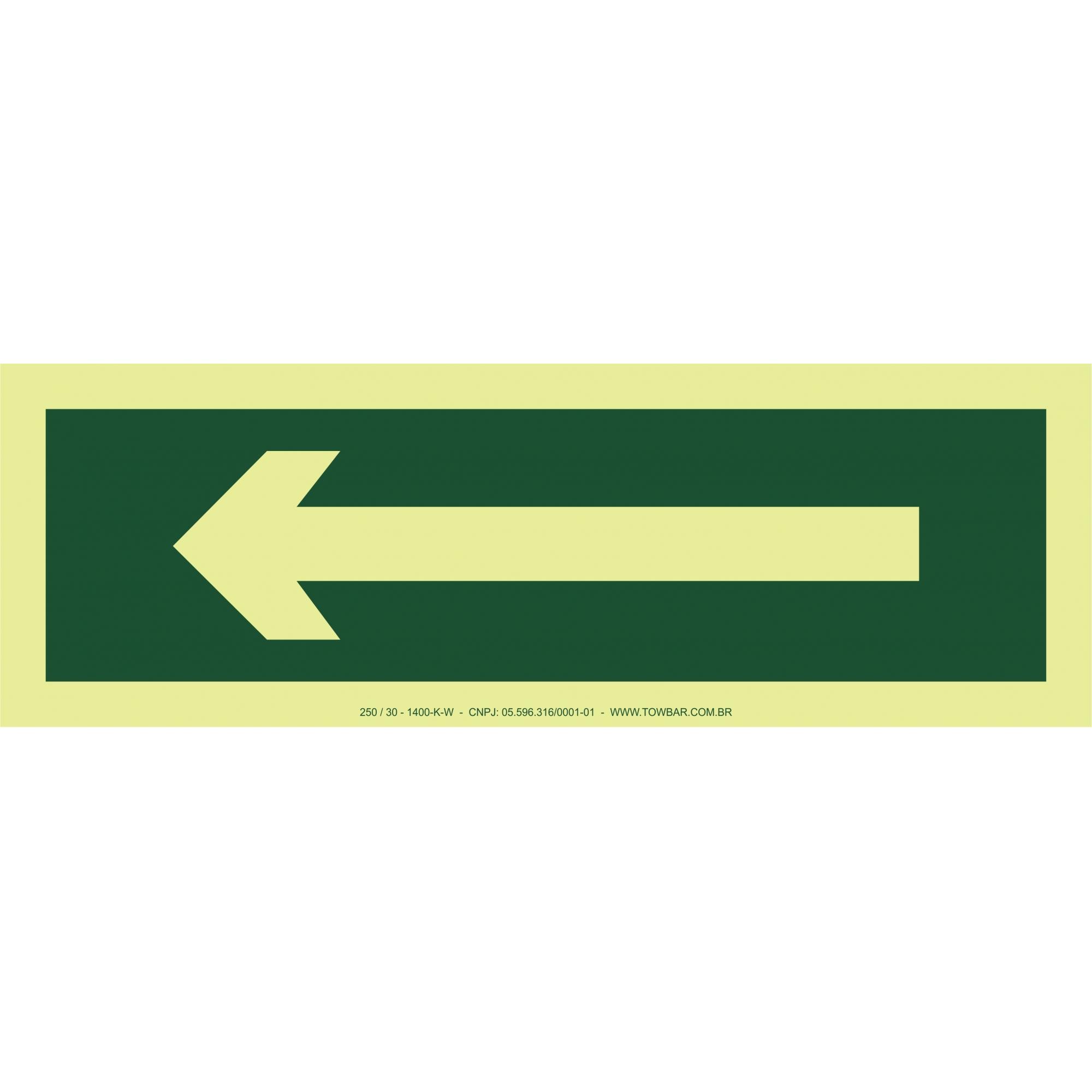 Arrow Left  - Towbar Sinalização de Segurança