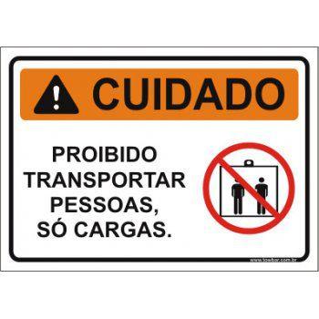 Atenção ao transportar pessoas  - Towbar Sinalização de Segurança