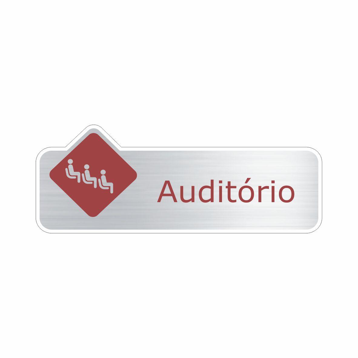 Auditório  - Towbar Sinalização de Segurança
