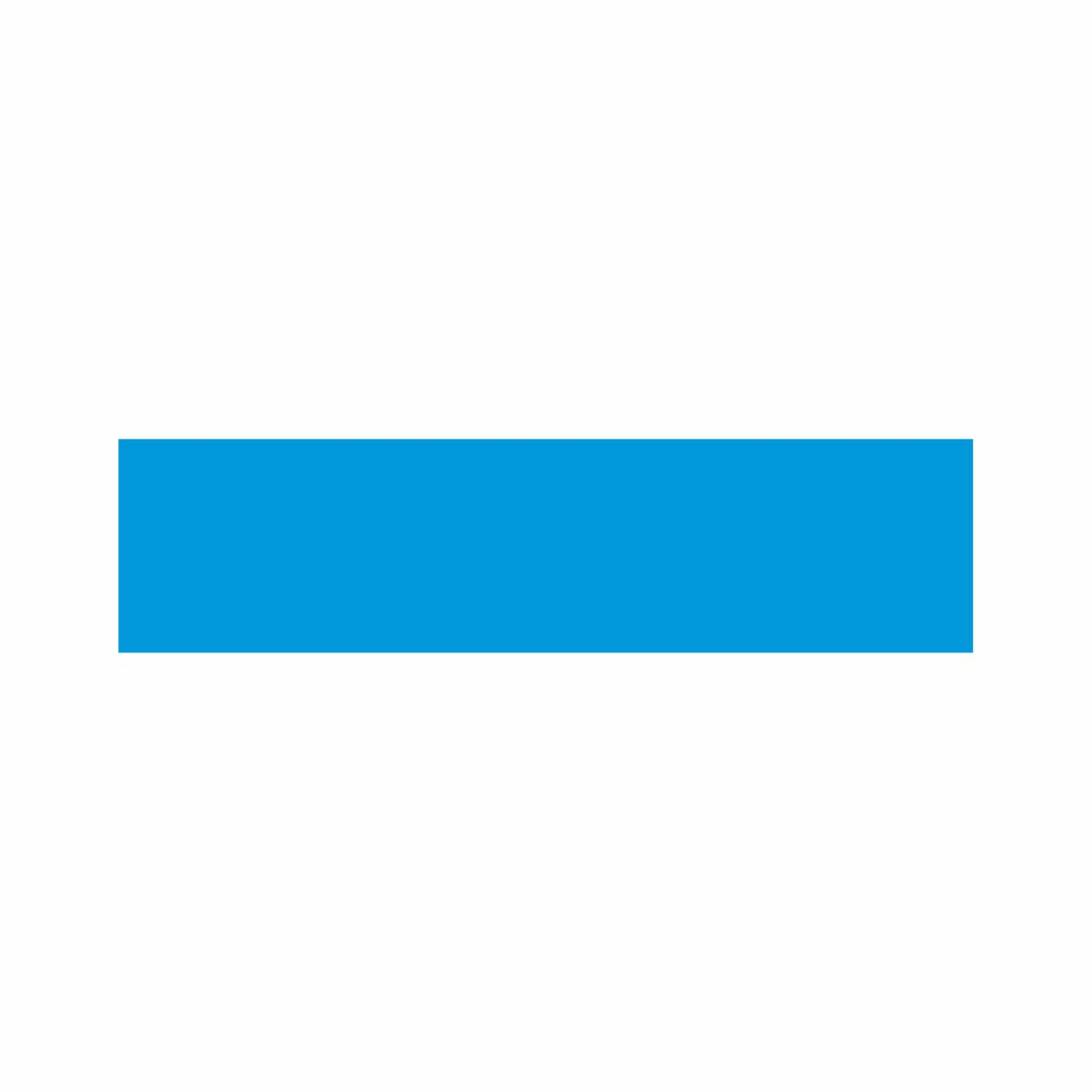 Azul  - Towbar Sinalização de Segurança