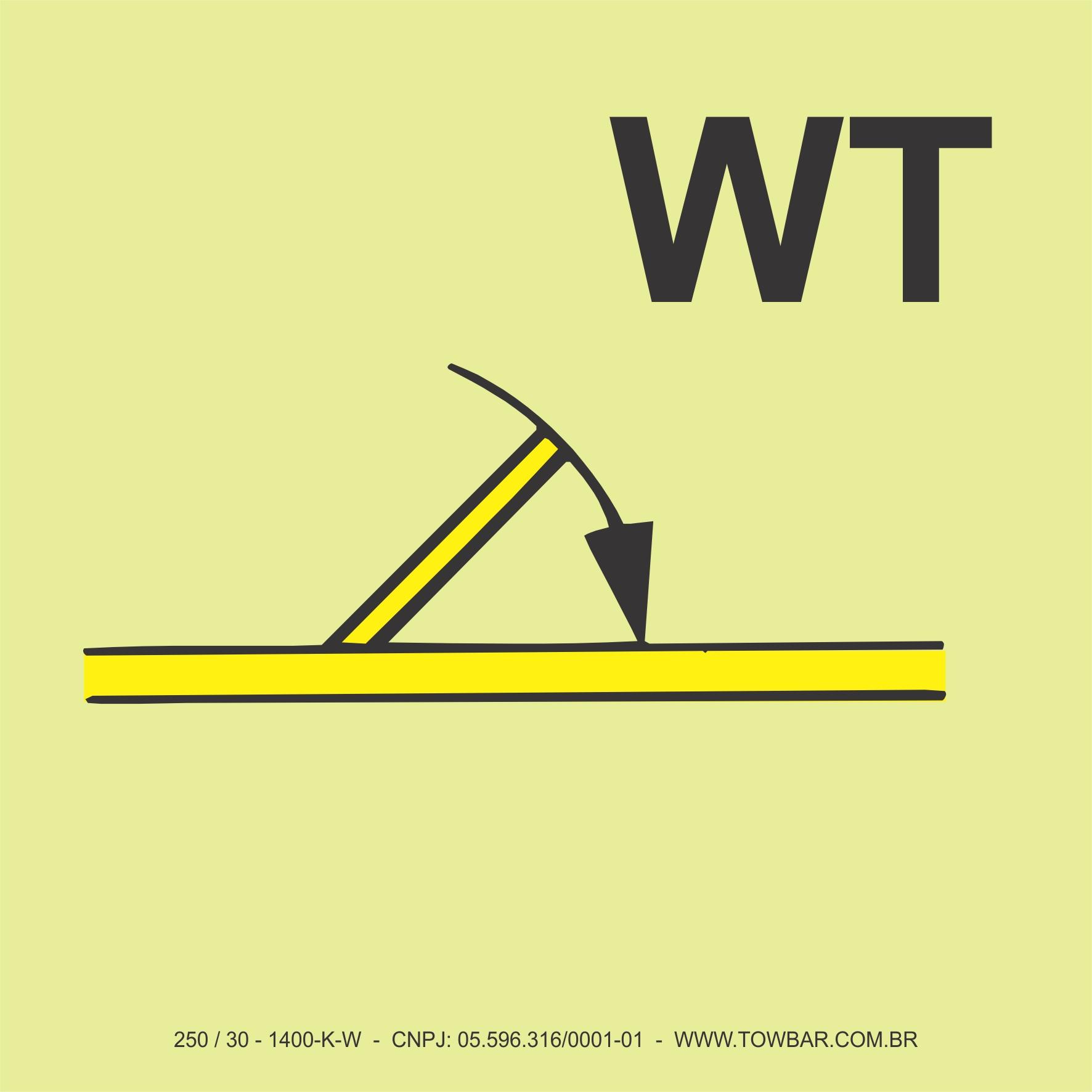 """Porta corta-fogo fechamento automático classe """"B"""" (""""B"""" Class Fire Door Self Closing (WT))  - Towbar Sinalização de Segurança"""