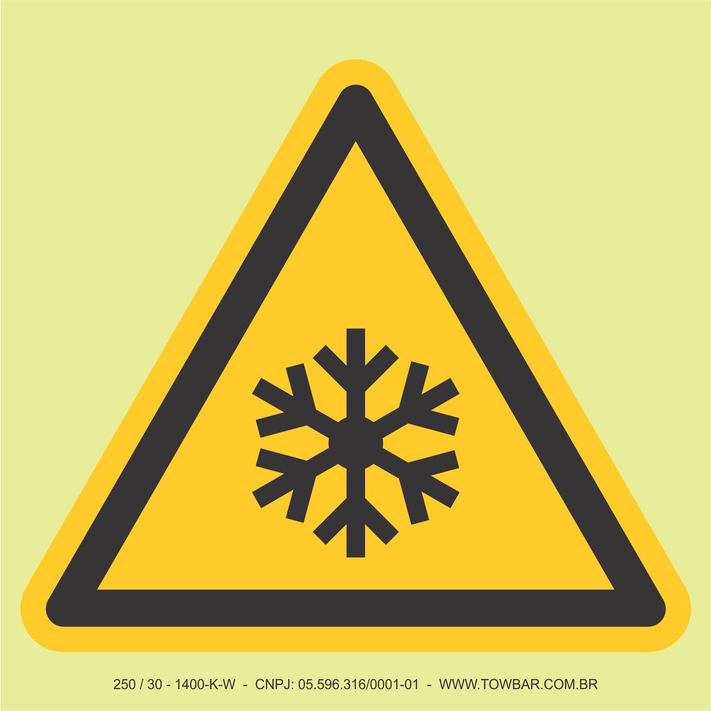 Baixa Temperatura  - Towbar Sinalização de Segurança
