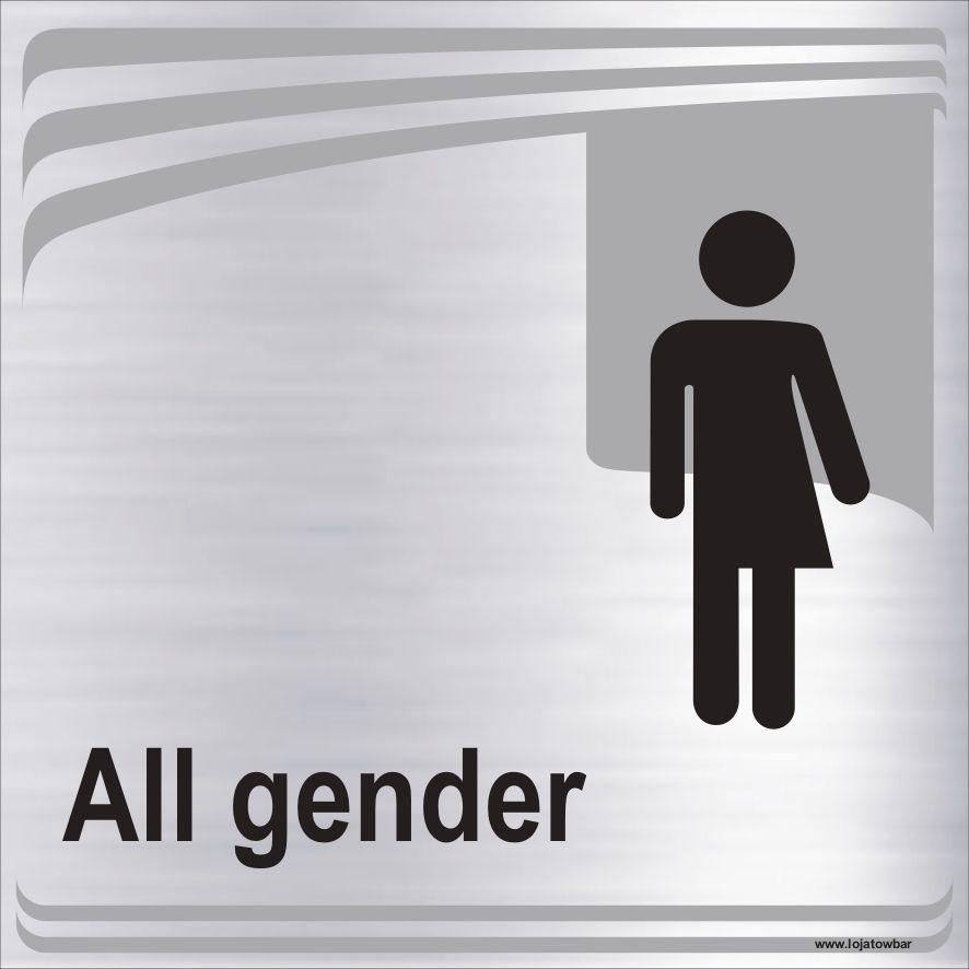 Banheiro todos os gêneros  - Towbar Sinalização de Segurança