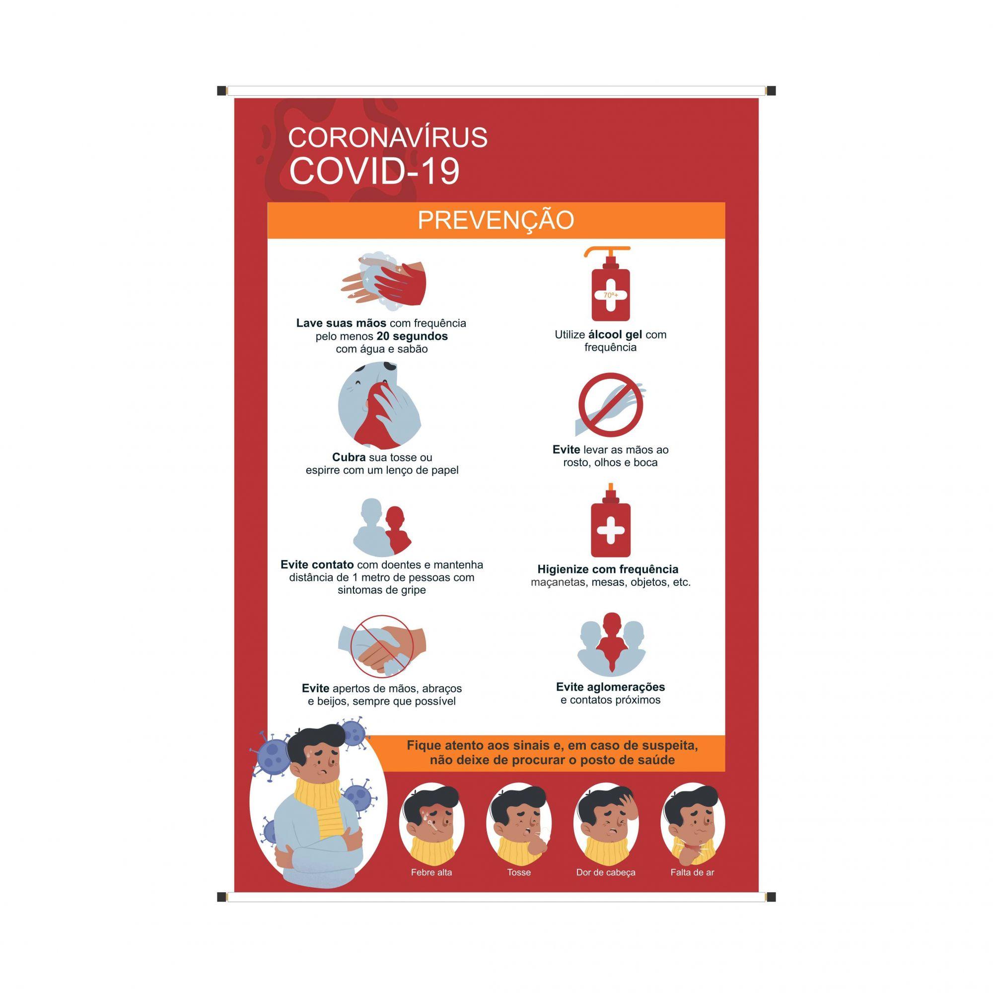 Banner Covid-19  - Towbar Sinalização de Segurança
