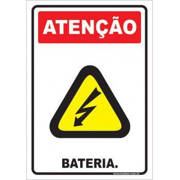 Bateria.  - Towbar Sinalização de Segurança